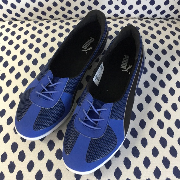 Puma blue flats size 8.5